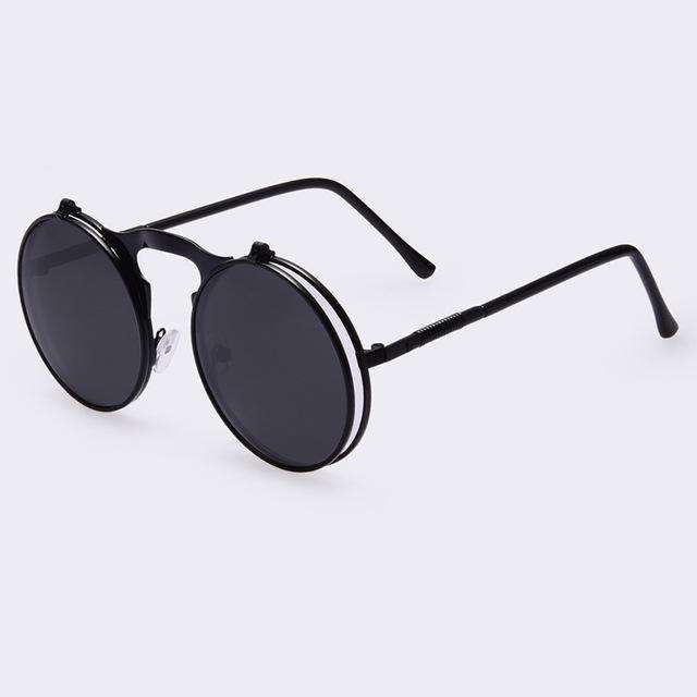 COATING CIRCLE SUN GLASSES