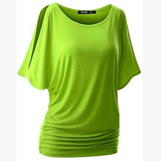 Women Batwing Sleeve Shirts