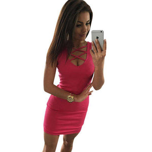 Summer Sexy Slim Women Dress