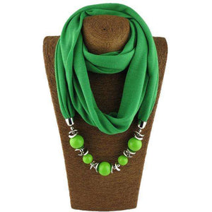 Ethnic Unique Scarf Necklaces