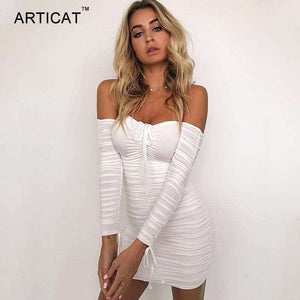 Sexy Off Shoulder Long Party Dresses