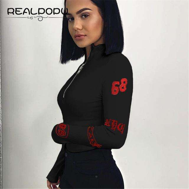 Long Sleeve Sexy Bodysuit