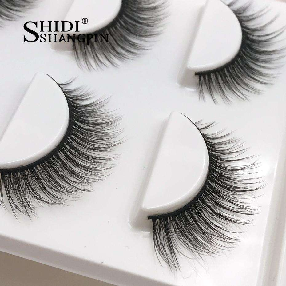 Natural False Eyelashes fake lashes