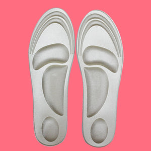 4D Pain Relief Insoles - Pair ( buy 3 pair get 1 pair free )