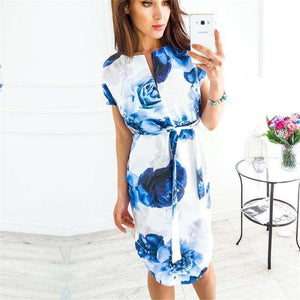 Ahagaga Summer Dress Women Fashion