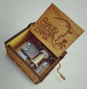 Harry Potter Wood Engraved Music Box