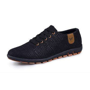 Fashion Low Lace-up Canvas Shoes