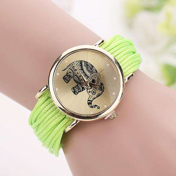 Fashion Casual Elephant Wrist Watches