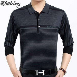 Casual long sleeve business mens shirts