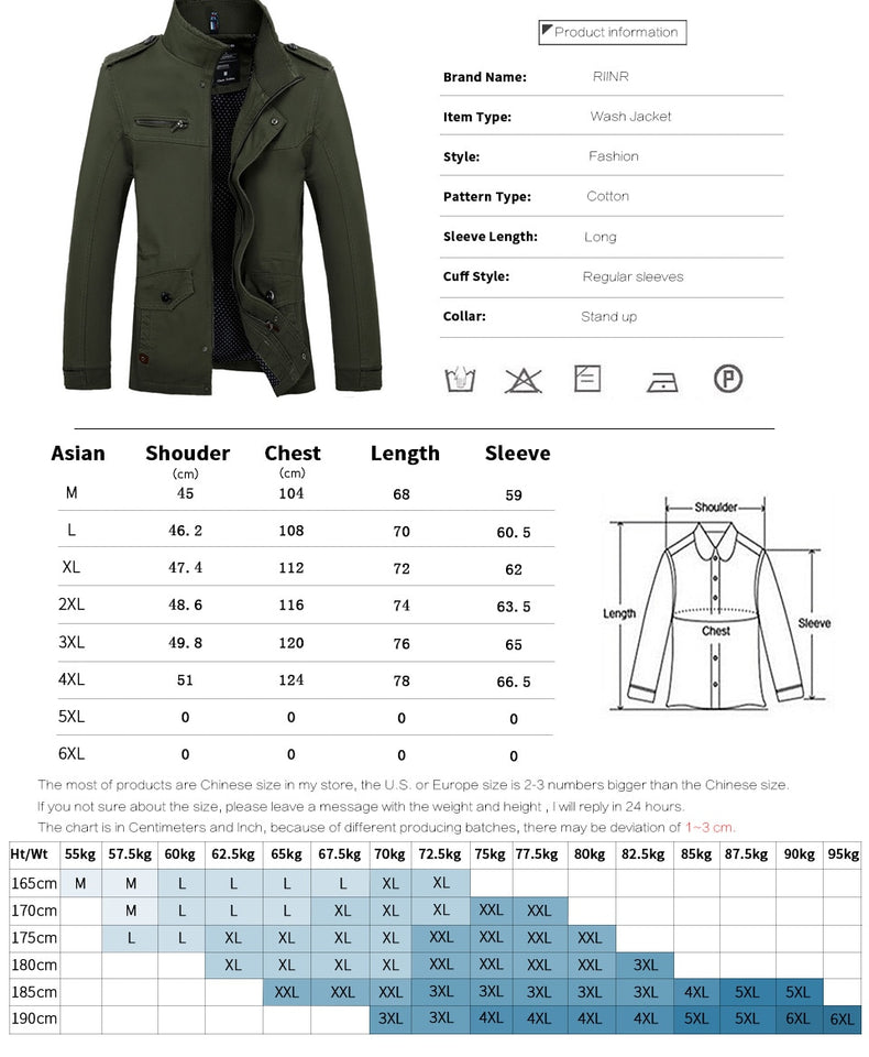 Slim Fit High Quality Mens Autumn