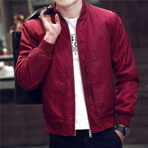 Fashion Slim Bomber Jacket