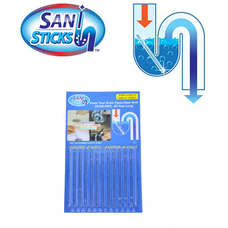 Sani Sticks-Drain Cleaner and Deodorizer(Buy 3 Get 1 Free)