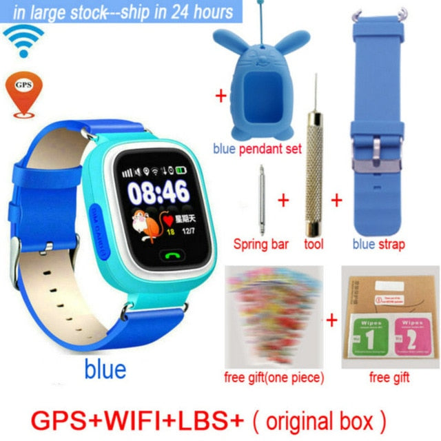 KidSAFE - GPS Positioning Smart Watch