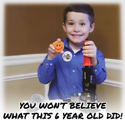 World's Youngest Button-Making Entrepreneur