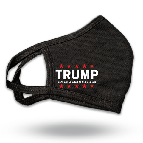 Trump Face Mask Coverings