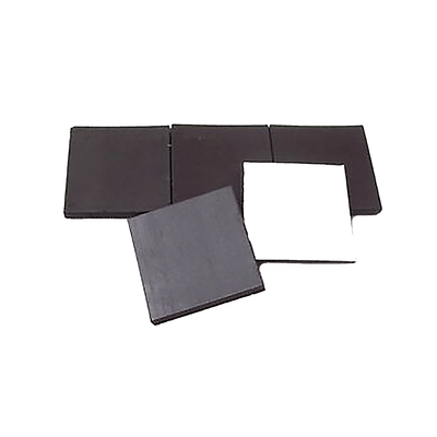 1 inch square adhesive back peel and stick magnet strips