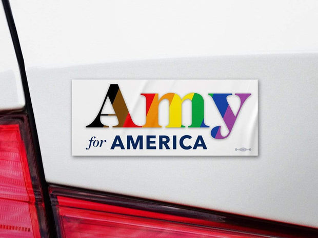 Amy Klobuchar for America 2020 Campaign Bumper Sticker / AK-BS-603