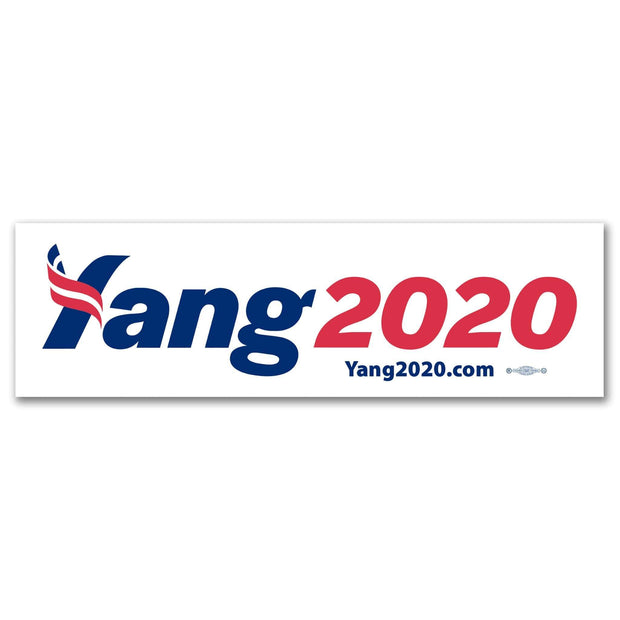 Andrew Yang 2020 Campaign Bumper Sticker / AY-BS-601 - Buttonsonline