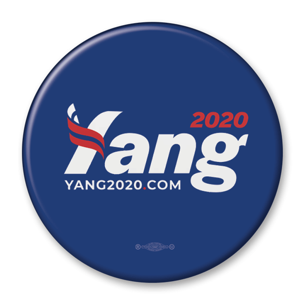Andrew Yang 2020 / Presidential Campaign Pinback Button / AY-303 - Buttonsonline