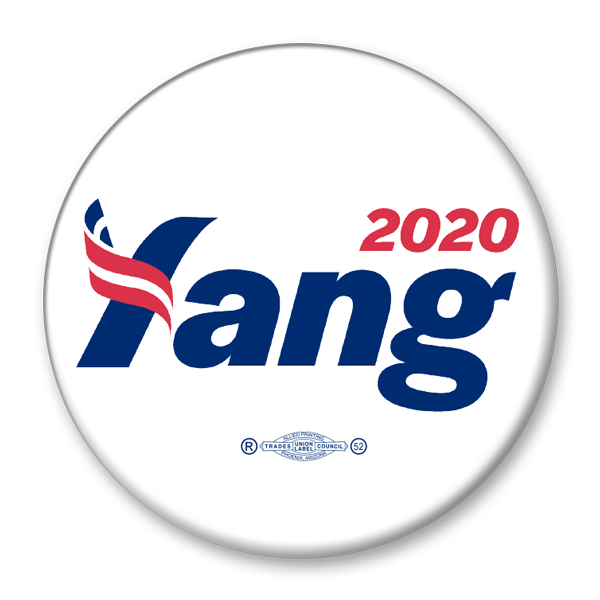 Andrew Yang 2020 / Presidential Campaign Pinback Button / AY-305 - Buttonsonline