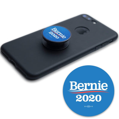 Bernie 2020 Round Vinyl Pop Socket Sticker / BS-PS-1 - Buttonsonline