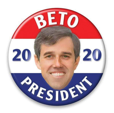 Beto O'Rourke / 2020 Presidential Photo Pinback Button / BETO-309 - Buttonsonline
