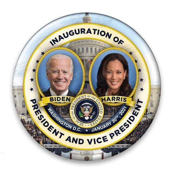 Joe Biden Kamala Harris Innaguration Pin back Button