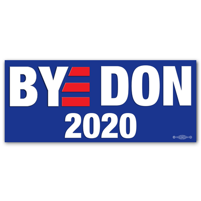 Bye Don  Blue Campaign Bumper Sticker / JB-BS-604