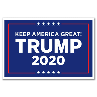 Donald Trump 2020 Keep America Great! Rally Sign / DT-Sign-20 - Buttonsonline