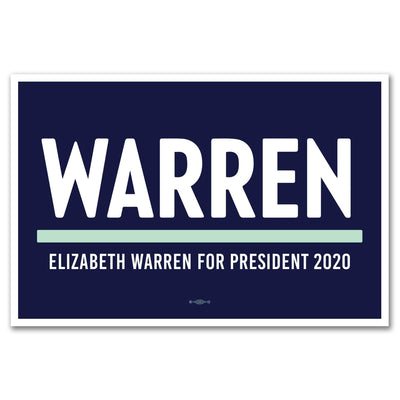 Elizabeth Warren 2020 Rally Sign / EW-Sign-1 - Buttonsonline