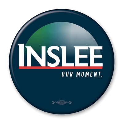 Jay Inslee / Our Moment / 2020 Presidential Pinback Button / JI-302 - Buttonsonline