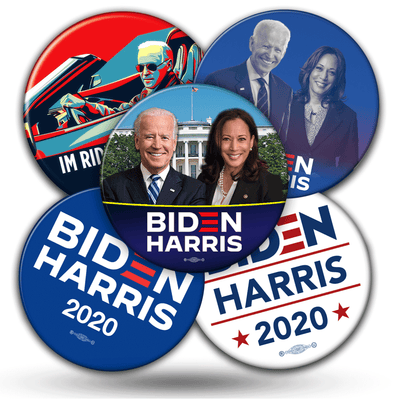Joe Biden Kamala Harris Campaign Mix and match Buttons
