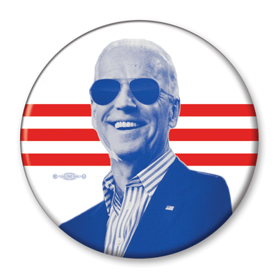 Joe Biden 2020 Photo Campaign Pinback Button / JB-303 - Buttonsonline