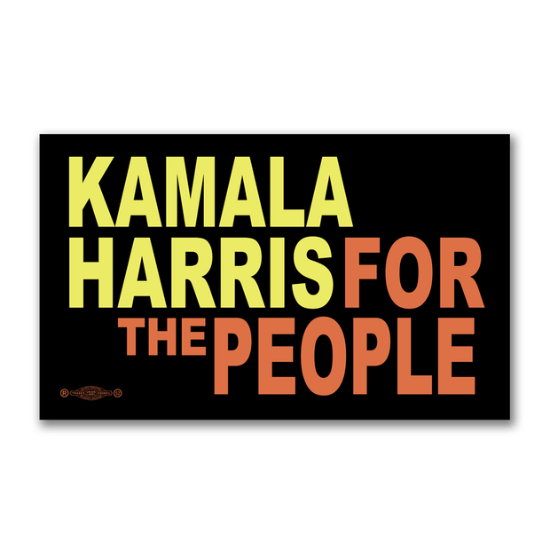 Kamala Harris For the People Campaign Bumper Sticker / KH-BS-602 - Buttonsonline