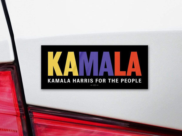 Kamala Harris For the People Campaign Bumper Sticker / KH-BS-603 - Buttonsonline