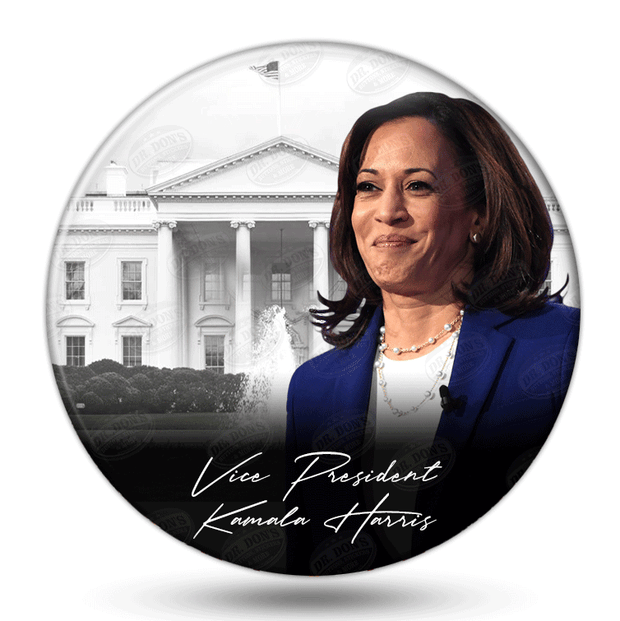 Kamala Harris Vice President of the United States Pinback Button / JB-333