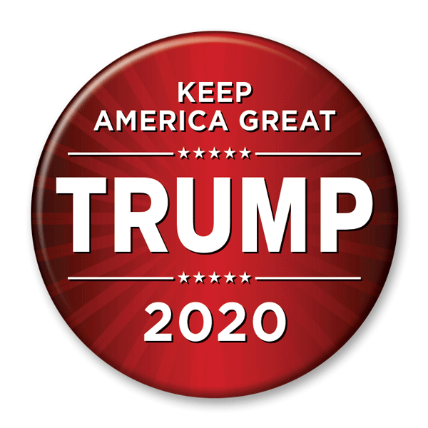 Keep America Great / Donald Trump 2020 Pinback Button / DT-227 - Buttonsonline