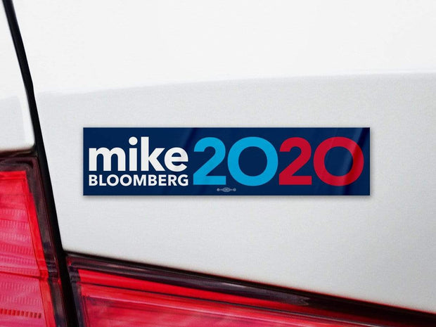 Mike Bloomberg 2020 Blue Campaign Bumper Sticker / MB-BS-602 - Buttonsonline