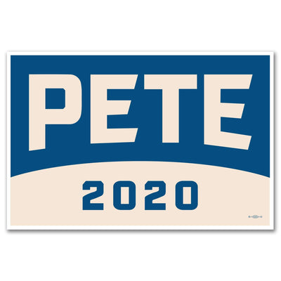 Pete Buttigieg 2020 Rally Sign / PB-Sign-1 - Buttonsonline