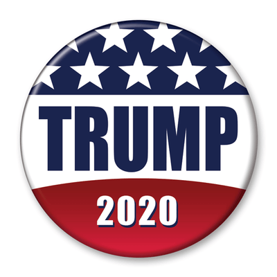Trump 2020 Campaign Pinback Button / DT-252 - Buttonsonline