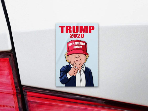 Trump 2020 Character Bumper Sticker / DT-BS-622 - Buttonsonline
