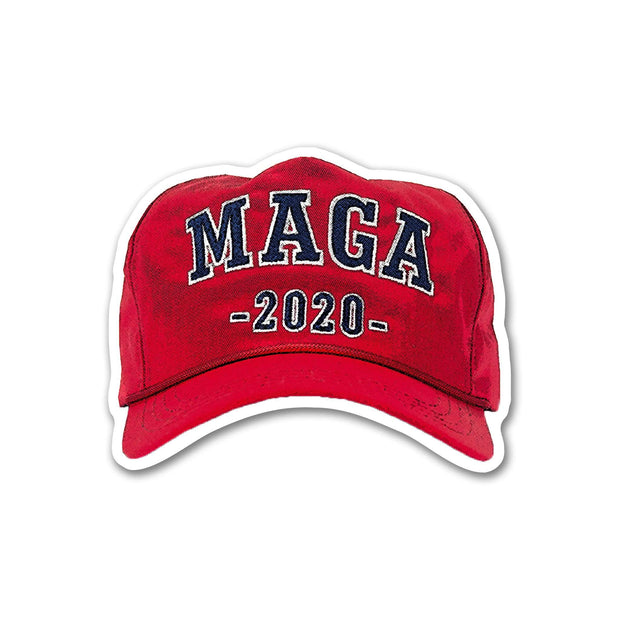 Trump 2020 MAGA Hat Vinyl Sticker / DT-Vinyl-628 - Buttonsonline
