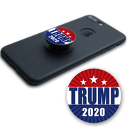 Trump 2020 Round Vinyl Pop Socket Sticker / DT-PS-1 - Buttonsonline