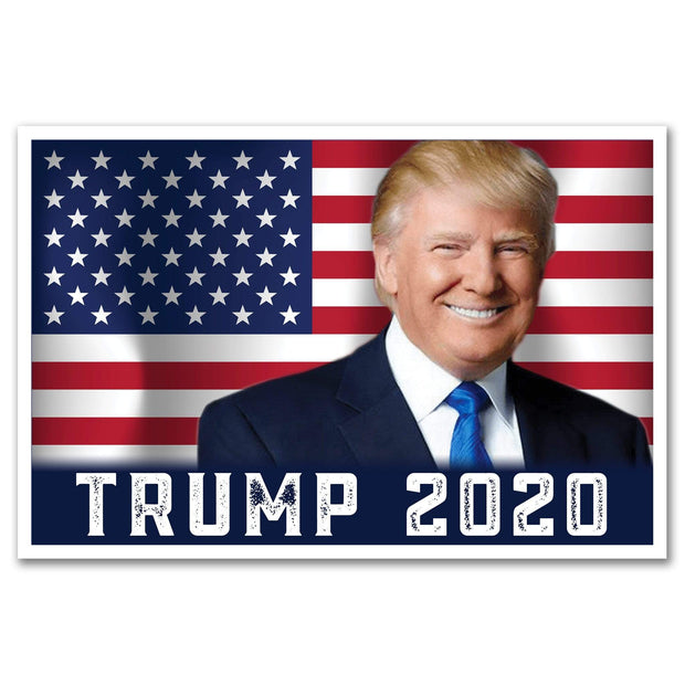 Trump 2020 USA Flag Rally Sign / DT-Sign-21 - Buttonsonline