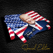 Trump 45 Patriotic Special Edition Vinyl Sticker / DT-Vinyl-45