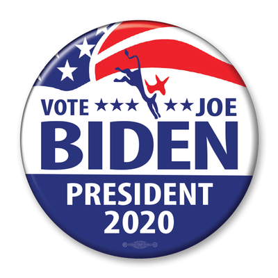 Vote Joe Biden 2020 Campaign Pinback Button / JB-308 - Buttonsonline