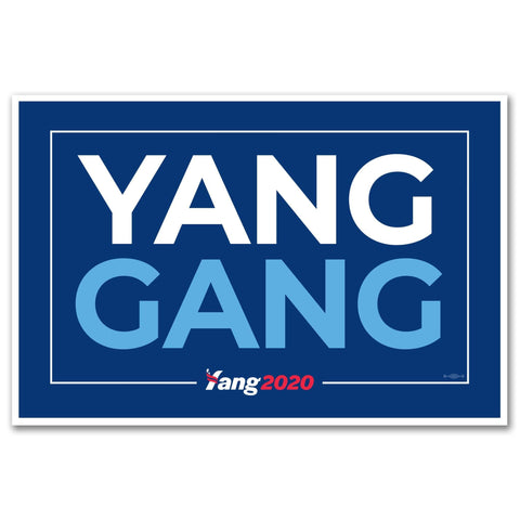 Andrew Yang 2020 Signs