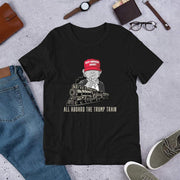 All Aboard the Trump Train Premium Short-Sleeve Unisex T-Shirt