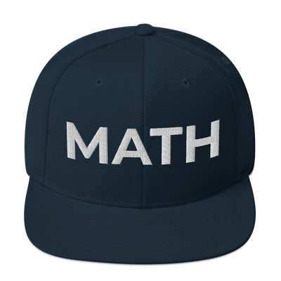 Andrew Yang 'MATH' Snapback Hat - Buttonsonline