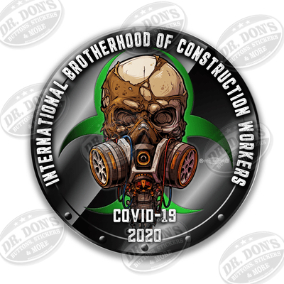 Essential Workers Covid 19 construction workers sticker
